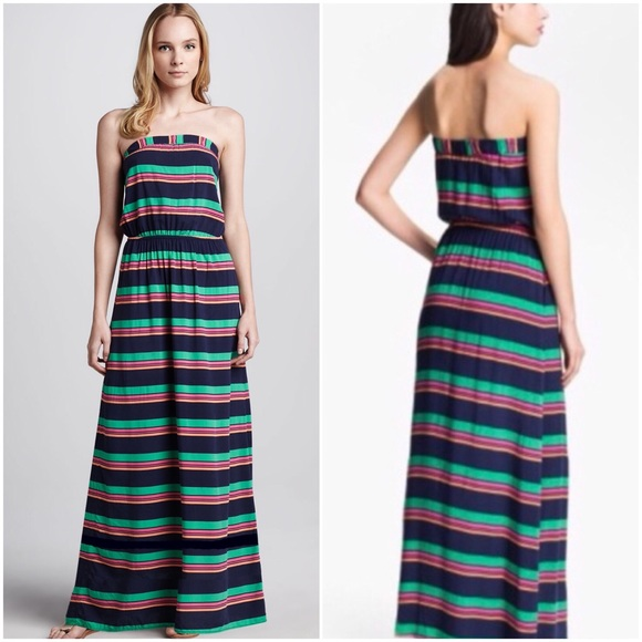 Splendid Dresses & Skirts - Splendid Cannes striped maxi dress sz M